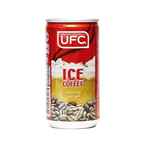 Кофе черный с добавлением молока и сахара Ice Coffee UFC, 180мл