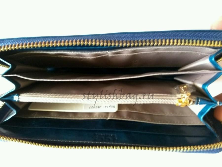 Женский кошелек из кожи  на молнии  JCCS js7027