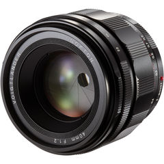 Объектив Voigtlander Nokton 40mm f/1.2 Aspherical Lens for Sony E