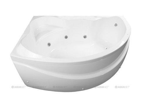 Ванна акриловая Aquanet Jamaica 160x100 L левая