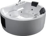 Гидромассажная ванна Gemy G9063 K 183х162