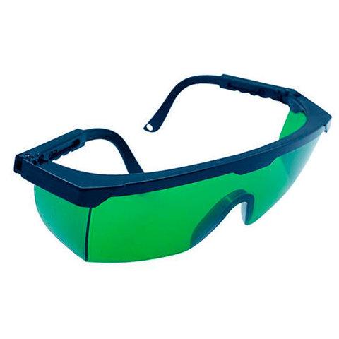 Зеленые защитные очки для фотоэпиляции