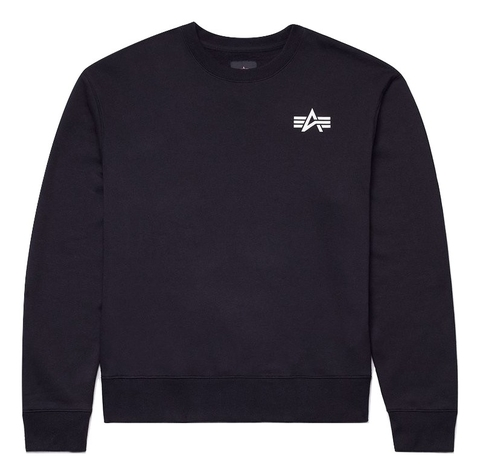 Свитшот Alpha Industries Small Logo Sweatshirt Женский (черный)