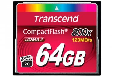 Compact Flash 64GB Transcend 800X