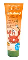 Детская зубная паста, апельсиновая