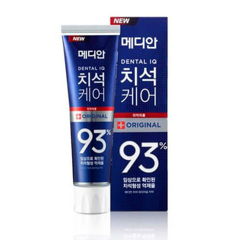 Median Toothpaste Original (СИНЯЯ) Зубная паста для удаления налета и оздоровления зубов со вкусом цитрусовой мяты 120g