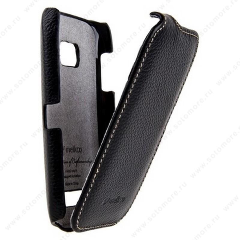 Чехол-флип Melkco для Nokia Lumia 710 Leather Case Jacka Type (Black LC)