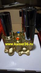 Смеситель KAISER Areva 08077 скрытого монтажа с переключением на душ 2