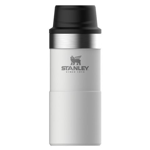 Термокружка Stanley The Trigger-Action Travel Mug (10-06440-016) 0.35л белый