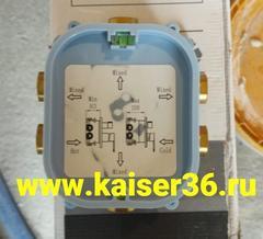 Смеситель KAISER Areva 08077 скрытого монтажа с переключением на душ 4