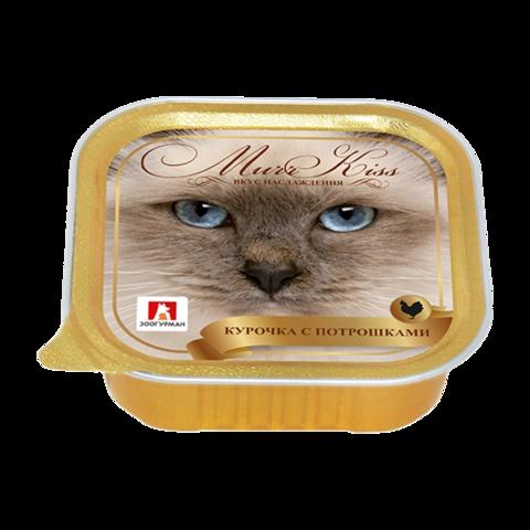 Зоогурман Murr Kiss Консервы для кошек с курочкой и потрошками