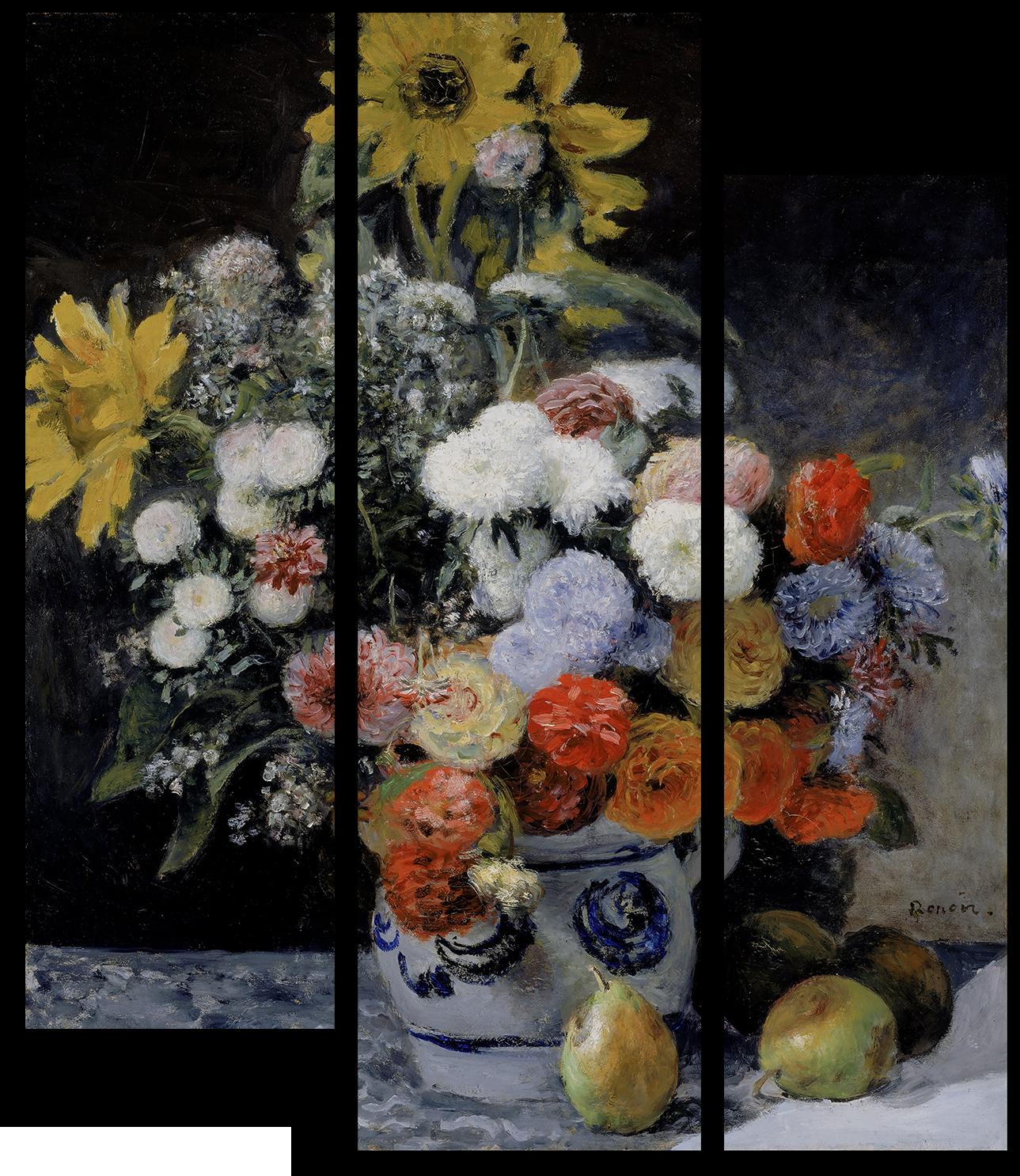 "Цветы Модульная картина ""Цветы в вазе"" М981.png"
