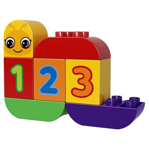 LEGO Duplo: Моя веселая гусеница 10831 — My First Caterpillar — Лего Дупло