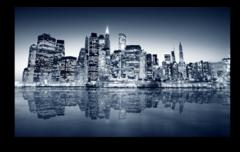 """Постер """"Ночной Нью-Йорк"""""""