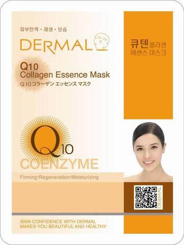Маска для лица Dermal (коэнзим Q10  и коллаген)