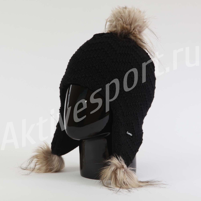 Женские шапки Шапка с помпоном Eisbar Nathalia Lux 009 IMG_0839.jpg