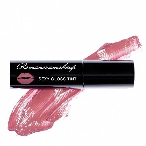 Блеск-тинт для губ Romanovamakeup Sexy Gloss Tint Desert Rose