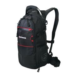Рюкзак Wenger Narrow Hiking Pack, чёрный, 23х18х47 см, 22 л