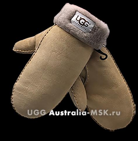 UGG Women's Glove Mittens Sand