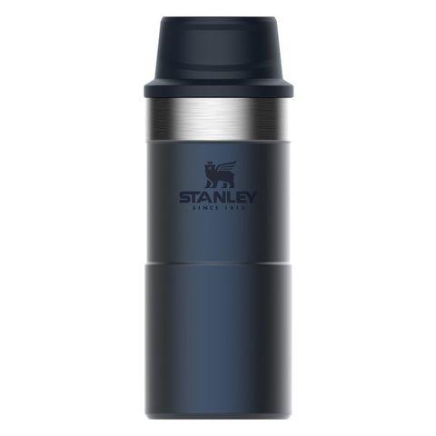 Термокружка Stanley The Trigger-Action Travel Mug (10-06440-017) 0.35л синий