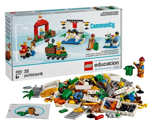 LEGO Education: Дополнительный набор StoryStarter Построй свою историю. Городская жизнь 45103 — StoryStarter Community Expansion — Лего Образование