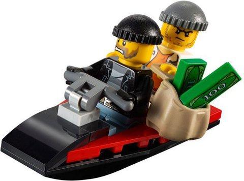 LEGO City: Набор Остров-тюрьма для начинающих 60127 — Prison Island Starter Set — Лего Сити Город