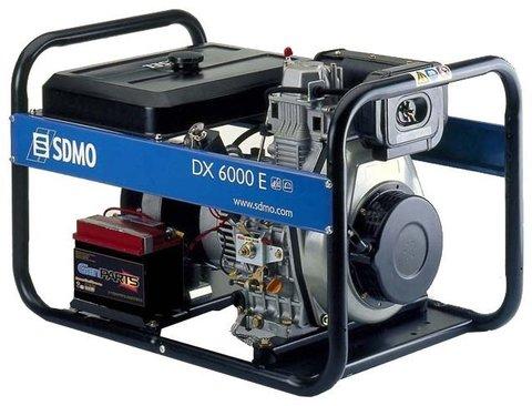 Кожух для дизельного генератора SDMO DX6000E (5200 Вт)
