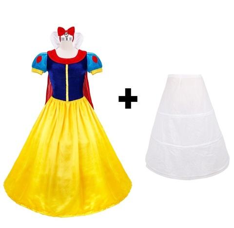 Белоснежка платье женское карнавальное — Dress Snow White Adult