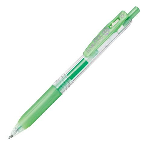Ручка гелевая Zebra Sarasa Clip Metallic Color (блестящая зелёная / Shiny Green 1,0 мм)