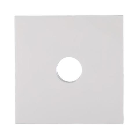 Лицевая панель розетки TV. Цвет Белый. LK Studio LK80 (ЛК Студио ЛК80). 845104