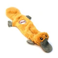 NEMS игрушка для собак Утконос-шкурка с 2 пищалками 35см