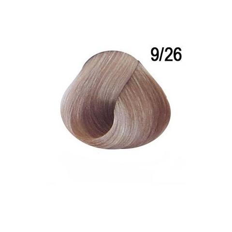 Перманентная крем-краска для волос Ollin 9/26 розовый блондин