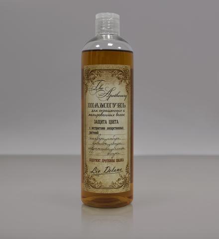 Liv delano The Apothecary Шампунь для окрашенных и мелированных волос Защита цвета 400мл