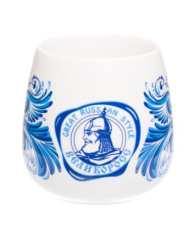 """VELIKOROSS mug """"Blue bird"""""""