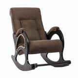 Кресло-качалка Модель 44 ткань с лозой