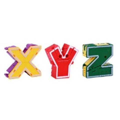 Робот-муравей: трансботы Lingvo Zoo 1 Toy (буквы английские X Y Z)