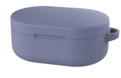 Чехол на Xiaomi Airdots силиконовый (серо-синий)