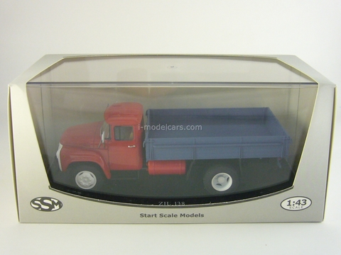ZIL-138 gas balloon later red-blue 1:43 Start Scale Models (SSM)