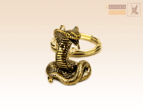 брелок Змея Кобра