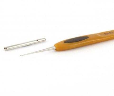 Крючок для вязания Clover Soft Touch. 1.25 мм