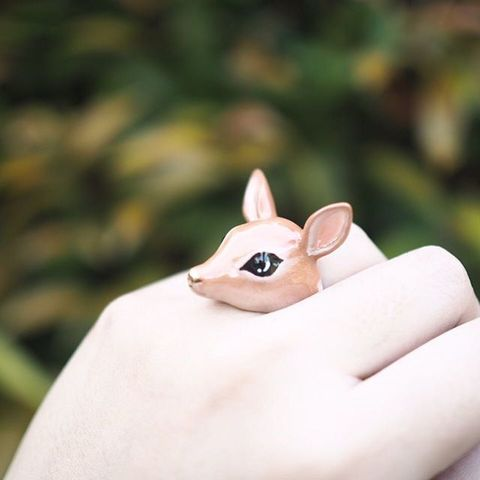 Кольцо Олень