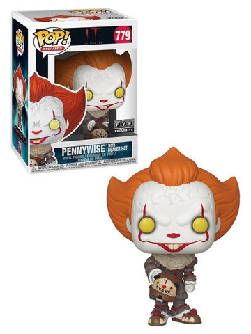 Pennywise With Beaver Hat Funko Pop! Special Edition Vinyl Figure || Пеннивайз с Бобровой Кепкой