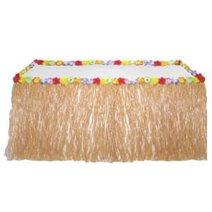 Юбка для стола гавайская 274см X 74см
