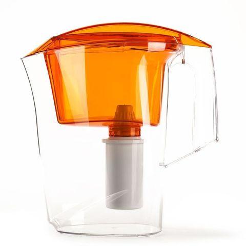 Фильтр - кувшин Гейзер Дельфин для очистки воды ораньжевый