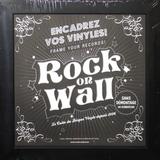 Настенная Рамка Для Виниловых Пластинок, Черная (Rock On Wall)