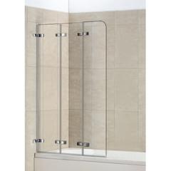 Стеклянная шторка на ванну WeltWasser WW 100ZD3 75