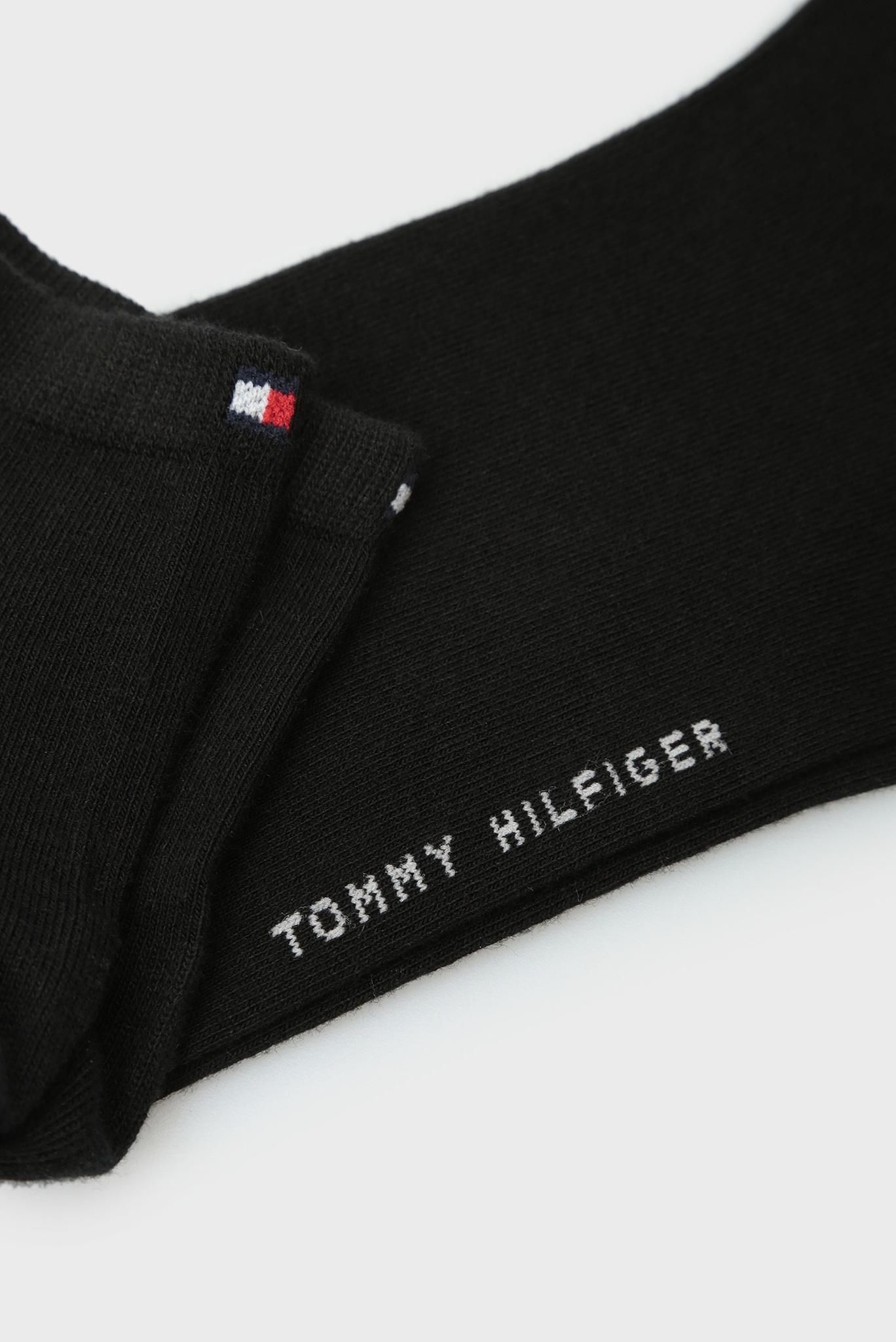 Женские черные носки (2 пары) Tommy Hilfiger