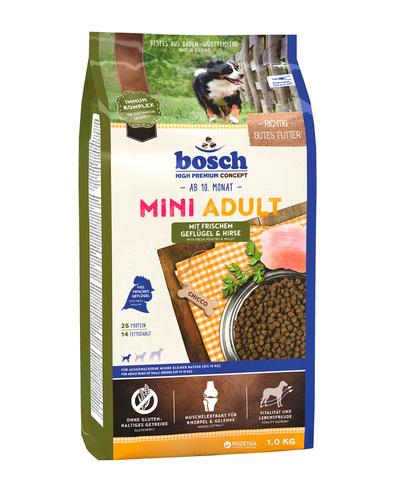 Bosch Adult с птицей и просом сухой корм для собак 1 кг