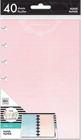 Внутренний блок для мини планера -Faith Disciplines Filler Paper - Mini -40 л