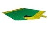 Картинка пляжное покрывало Ticket to the Moon Beach Blanket Green/Yellow